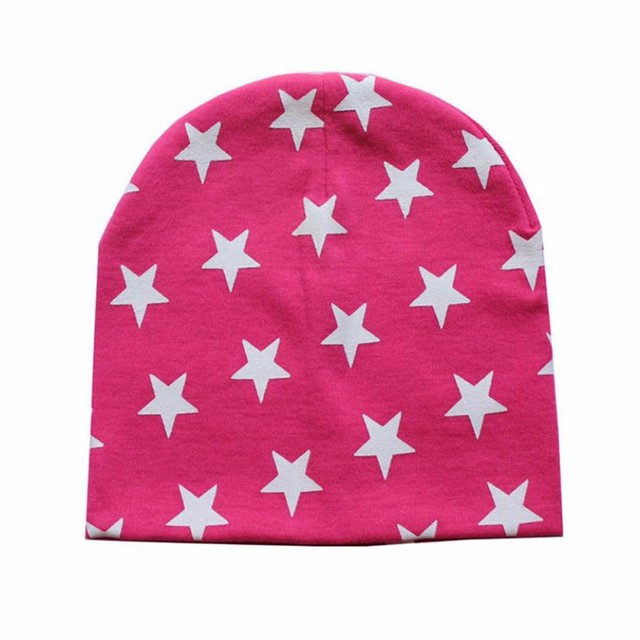 Baby's Star Patterned Hats