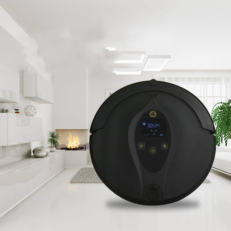 Automatically Robot Vacuum Cleaner Dry And Wet Cleaner With Timing Virtual Wall 1000pa Powerful Suction