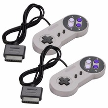 2PCS Joypad Gamepad Controller Pad For Nintendo Super Famicom SNES Fighting Commander Controller for Nintendo