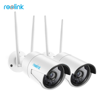 Reolink 2 Pack IP Camera WiFi 2 4G 5G Dual Band 4 0MP P2P OnVif Night