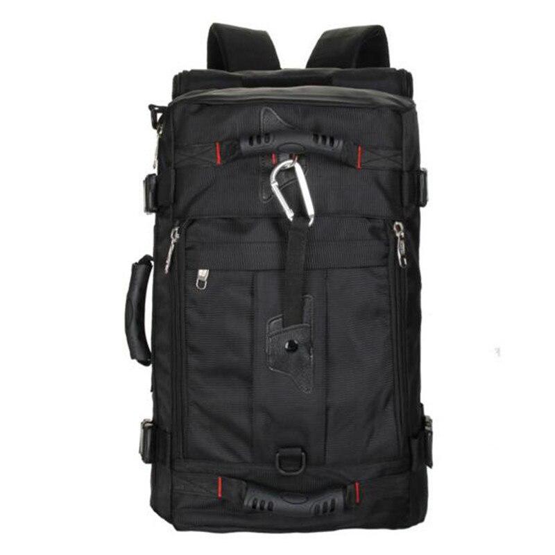 Casual Men Bag Waterproof Nylon Backpack Laptop Bag Multi function Camouflage Bag Men Army Combination 15