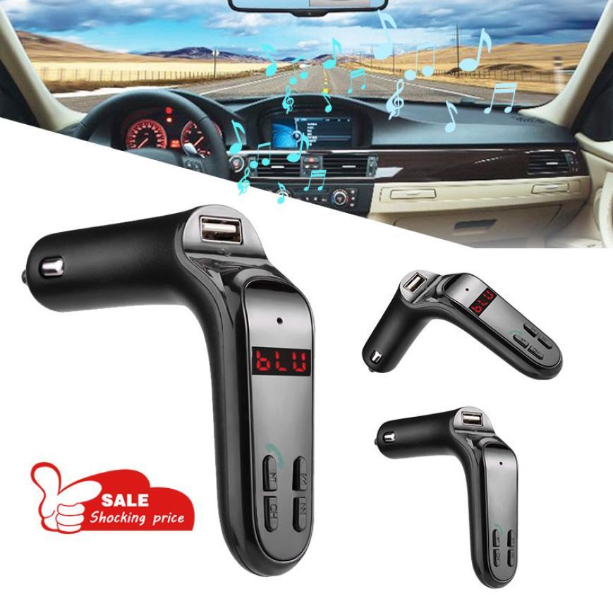 Электроника для автомобиля MP3-плееры Bluetooth гарнитура для авто Handsfree fm-передатчик Радио MP3-плееры USB Зарядное устройство и aux Feb13