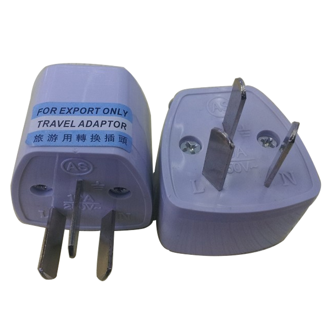 MAIF Top Universal Power Adapter Travel Adaptor 3 pin AU Converter US/UK/EU to AU Plug Charger For Australia Zealand