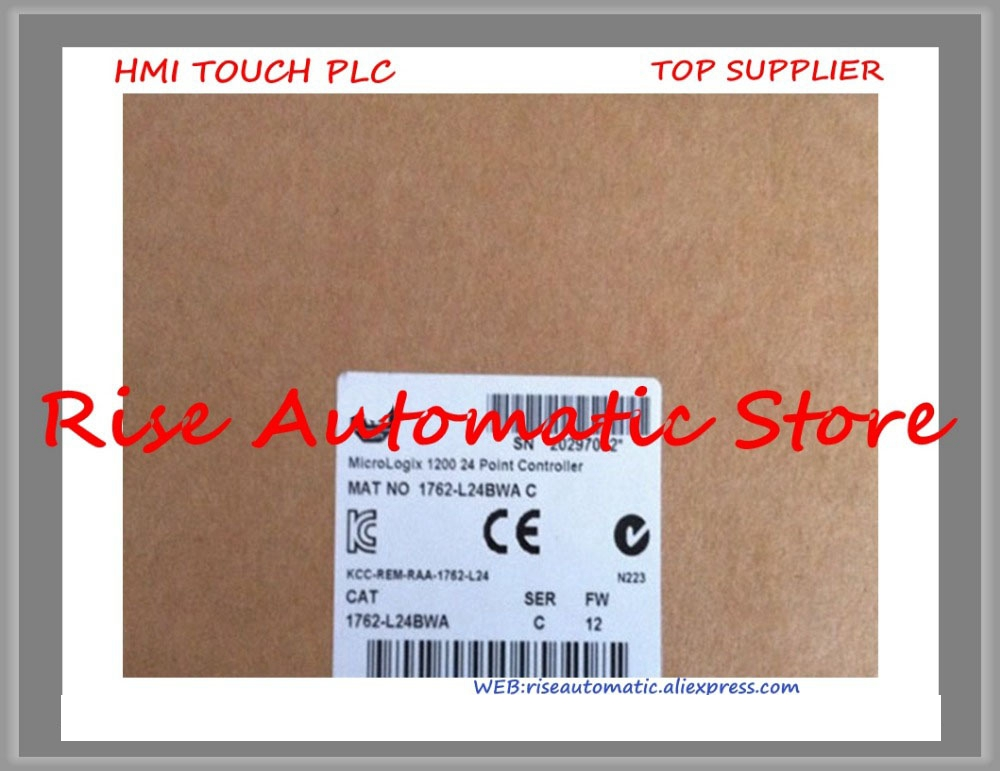 Brand New Original 1762-L24BWA PLC 24 VDC 14 Input Points MicroLogix 1200 Controller new home furnishings contactor sd 48 vdc spot n21 24 vdc