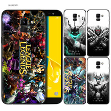 Silicone Case For Samsung Galaxy J4 J6 A6 A8 Plus A7 A9 J8 2018 A5 2017 Soft Cover Shell league of legends lol yasuo