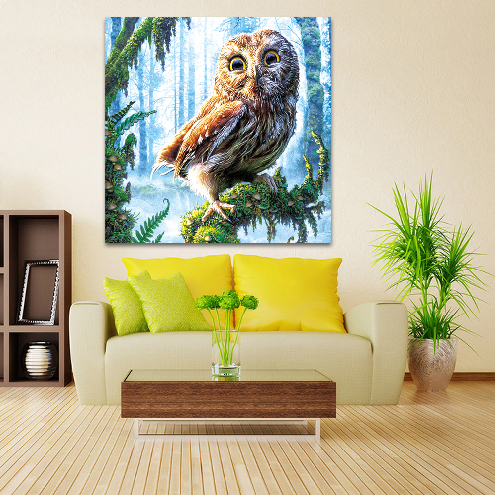 Best Seller 5D DIY Diamond Embroidery Painting Cross Stitch Forest ...