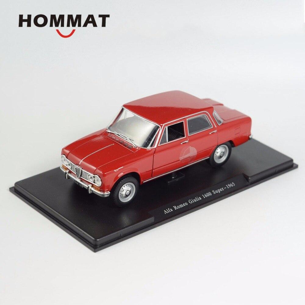 HOMMAT Simulation 1:24 Alfa Romeo Giulia 1600 Super 1965