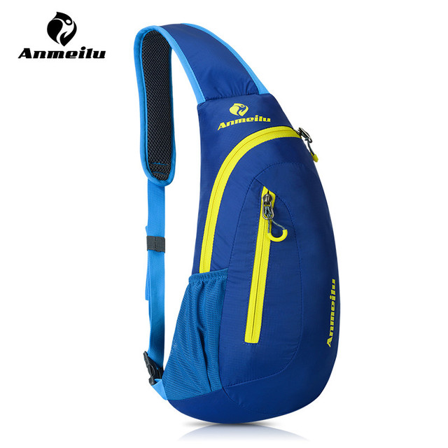 ANMEILU Bike Bag Bicycle Bag 8L Nylon Men Women Outdoor Sport Cycling Backpack Running Gym Fitness Climbing Rucksack Chest Pack