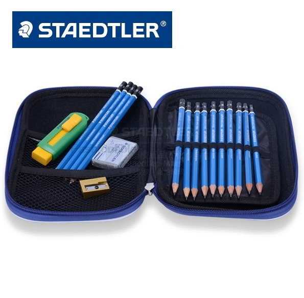 STAEDTLER 100 SET2 Professional drawing pencil set Stationery Office accessories School supplies staedtler 308 sbk3p 3 pcs art markers pens set send backpack stationery office accessories school supplies