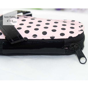 Image 5 - Pink Polka Purse Slippers Shaped Cute Creative Manicure Set Wedding Gift Favors 20sets Nail tools