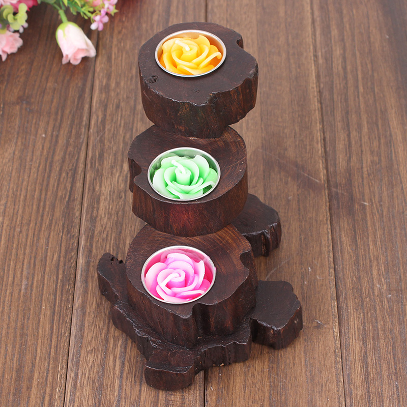 Compare prices on wood candle holder online shopping buy for Muebles de madera
