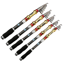Hot Top Quality 99 Carbon Short Sea Fishing Rods Fiber 1 8 3 6M Spinning Portable