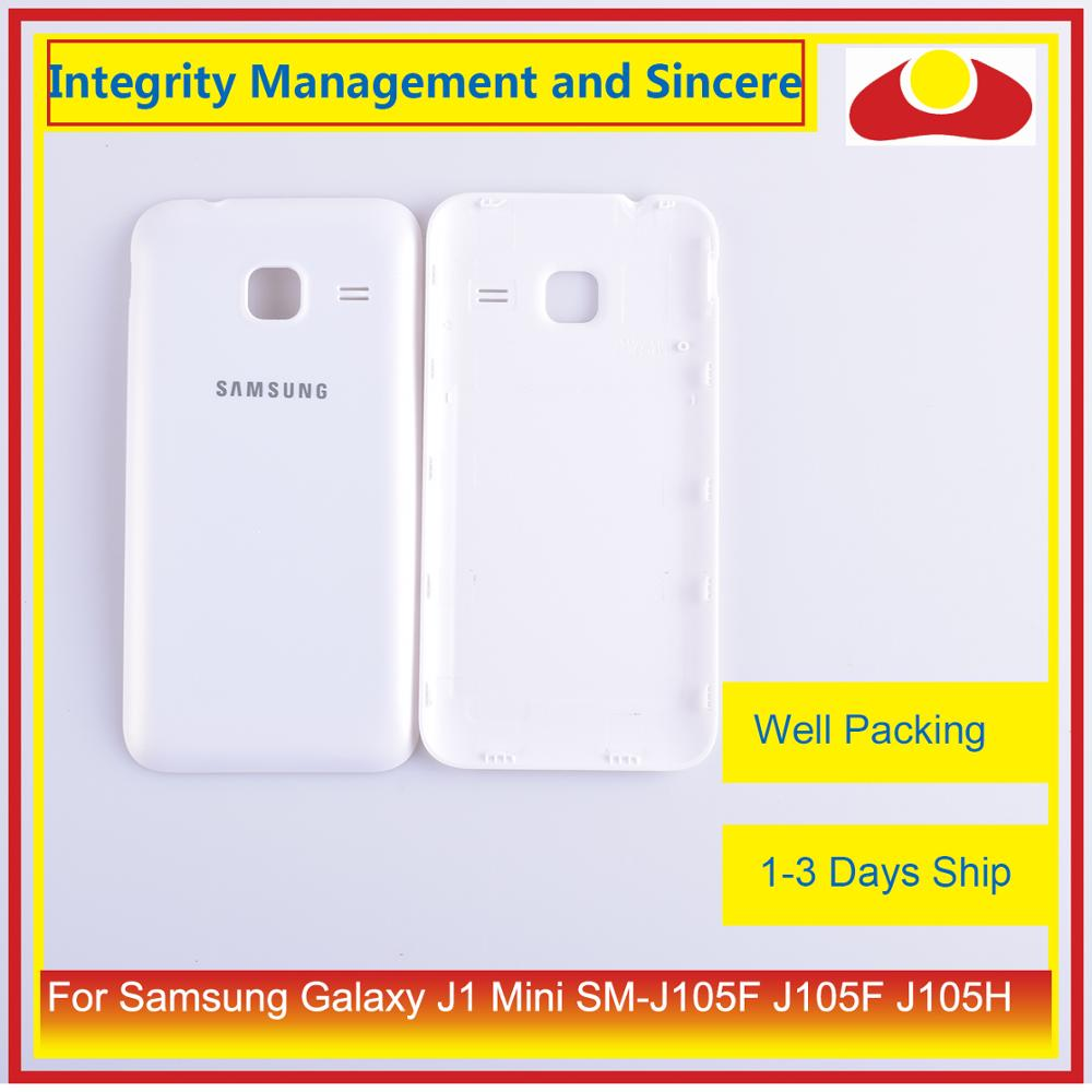 Image 2 - Original For Samsung Galaxy J1 Mini SM J105F J105F J105H J105 Housing Battery Door Rear Back Cover Case Chassis Shell-in Mobile Phone Housings & Frames from Cellphones & Telecommunications