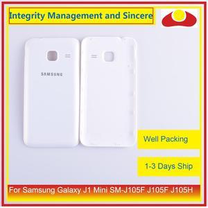 Image 2 - מקורי עבור Samsung Galaxy J1 מיני SM J105F J105F J105H J105 שיכון סוללה דלת אחורי כיסוי אחורי מקרה מארז פגז