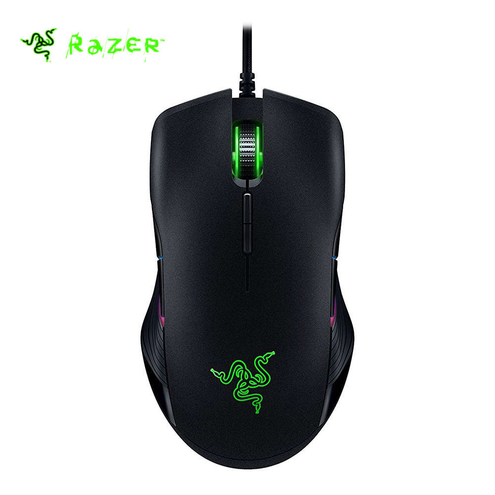 Razer Lancehead Tournament Edition Wired Gaming Mouse 16000 DPI 5G Optical Sensor Left and Right Both Hand Gaming Mouse razer taipan usb 2 0 wired 8200dpi dual sensor system laser gaming mouse black 200cm cable