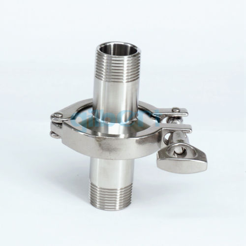 1/2 BSPT Male x 1.5 Tri Clamp Set SUS304 Stainless Steel Assembly Sanitary Fitting Tri-Clover Home Brew1/2 BSPT Male x 1.5 Tri Clamp Set SUS304 Stainless Steel Assembly Sanitary Fitting Tri-Clover Home Brew