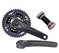 Shimano Sollievo M4050 3x9 Velocità Albero Motore E Manovelle HollowTech FC-M4050 con BB 27 s parti di biciclette 40-30-22T