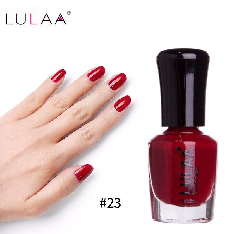 2018 Fashion Beauty Lulaa New Nail Gel Polish Free Samples For Nail
