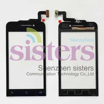 5Pcs High Quality New Wholesale Black Touch Screen Digitizer Panel  Replacement Parts For ASUS Zenfone 4, 4.5''Free Shipping
