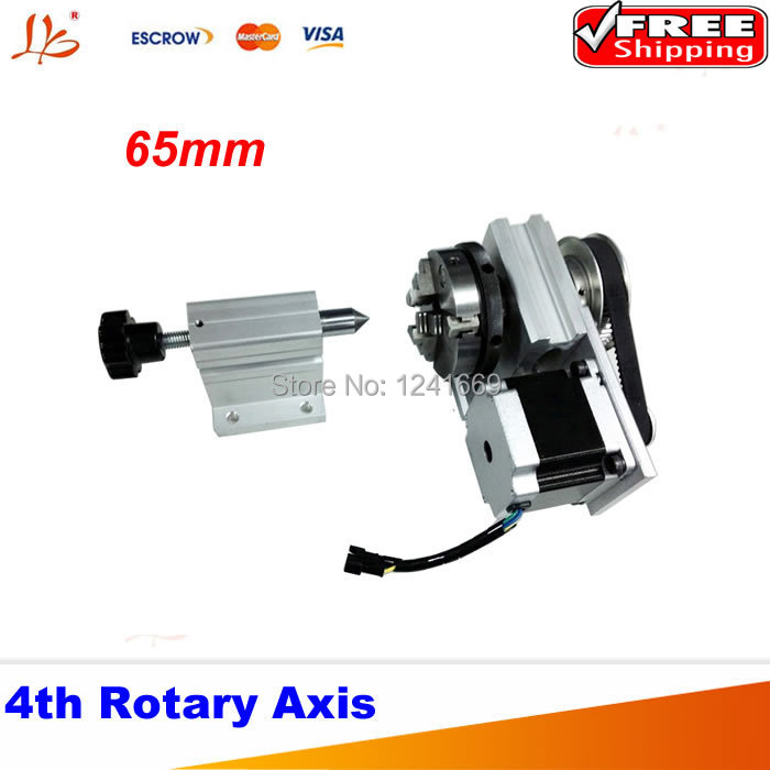 A axis three-jaw chuck Rotary Axis + CNC Tailstock For Our CNC engravers with limit switch cnc 5 axis a aixs rotary axis three jaw chuck type for cnc router