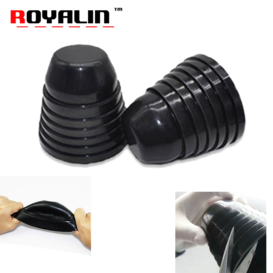 Universal Rubber LED Kit H11 Head Light Low Beam Two Dust Cover Seal Cap Replace