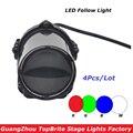 Хорошее качество 4 шт./лот 5 Вт Cree LED Pinspot Light мини LED Moving Head Beam Light для DJ Disco Party Свадебные украшения 90в-240в