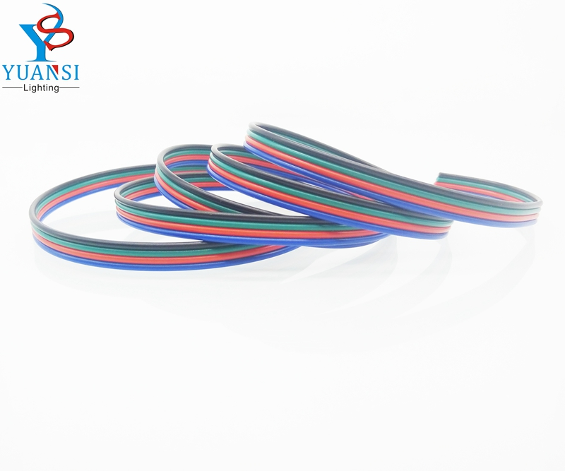 4pin led wire cable,22awg tinned copper wire,500m/lot extension ...