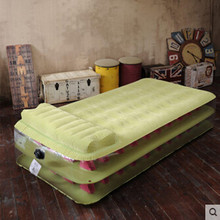 Double-deck Honeycomb column Inflatable bed Thickened air bed siesta bed Give  electric air pump