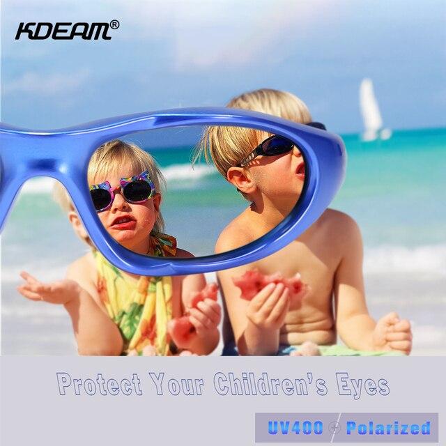 KDEAM Kids Polarized Sunglasses  1