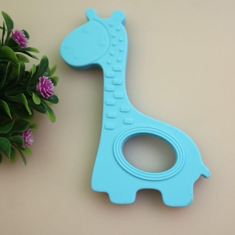 NEUE Baby Beißringe Kinder Silikon Beißen Spielzeug kinder Rasseln - Säuglingspflege - Foto 4