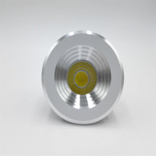 Dimmable 5W led spot light mini downlight AC85-265V white or warm cabinet RoHS CE