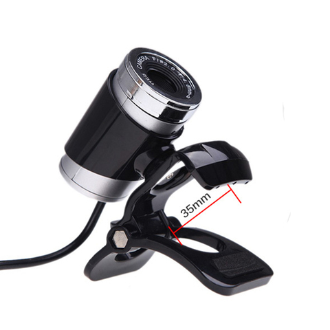 HD 12 Megapixels USB 2.0 Webcam Camera with MIC Clip-on for Computer PC Laptops Islamabad