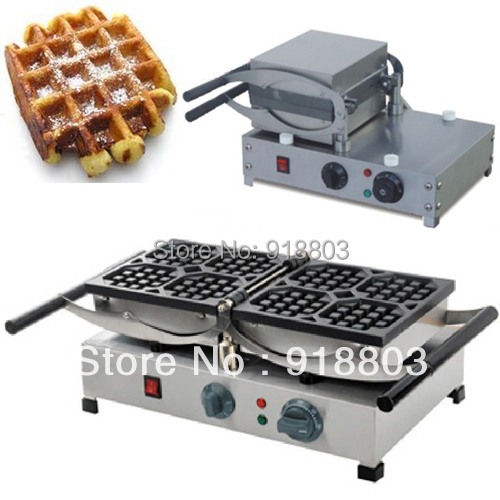 Us 185 0 180 Degree Turntable 9 6x9 6cm 220v Electric Liege Swing Belgian Waffle Maker Machine Baker In Waffle Makers From Home Appliances On