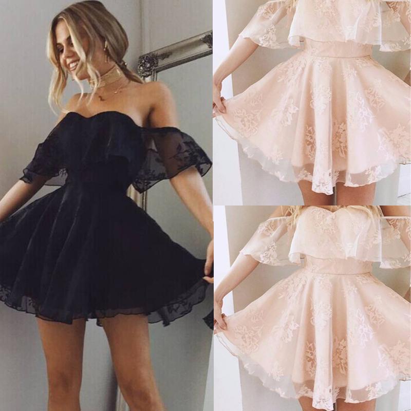 HTB1Ph44cBTH8KJjy0Fiq6ARsXXaQ - FREE SHIPPING Women Formal Lace Mini Dress Prom JKP317
