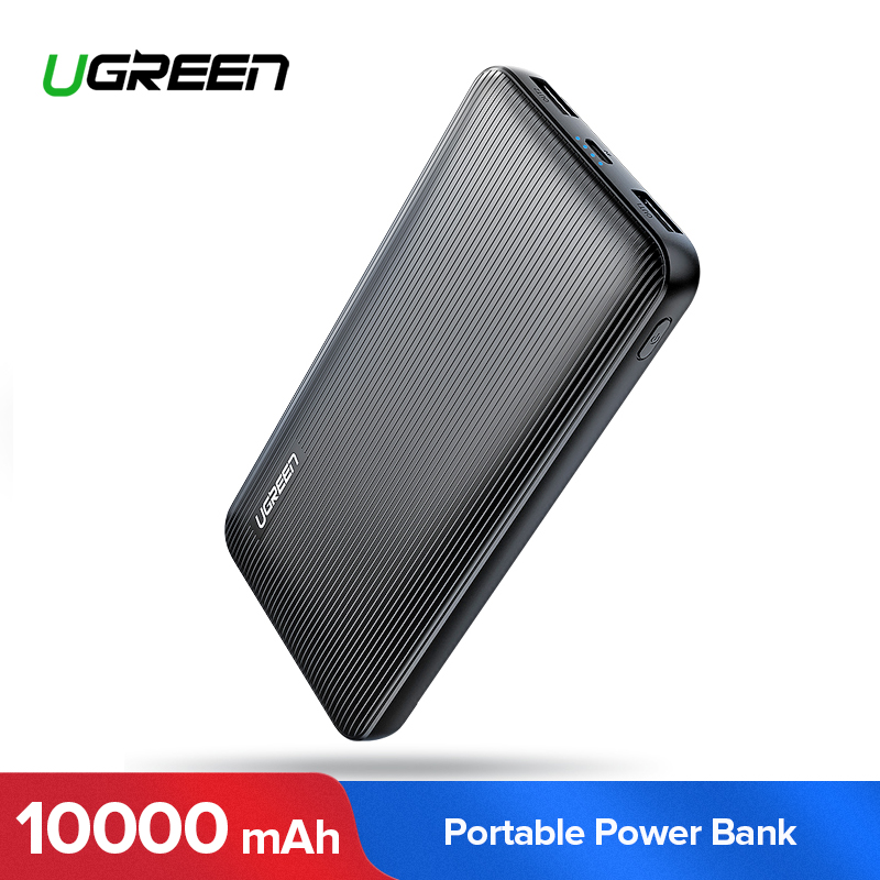 Ugreen Power Bank 10000 mah für iphone X Samsung Note 8 S8 ortable Externe Batterie Ladegerät Ultra Slim Power für xiaomi Mi6