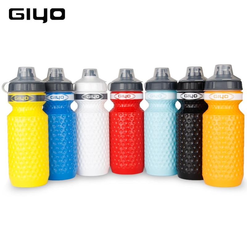 GIYO 600ML Shishe Uji Biçikletash MTB Ciklizëm Ujë Shishe Kampimi - Çiklizmit - Foto 2