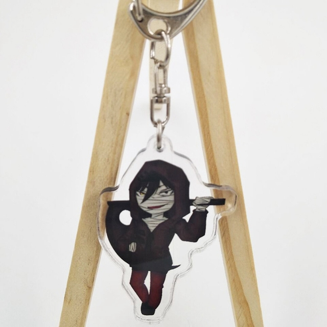 Angels of Death Rachel Gardner and Zack Keychain