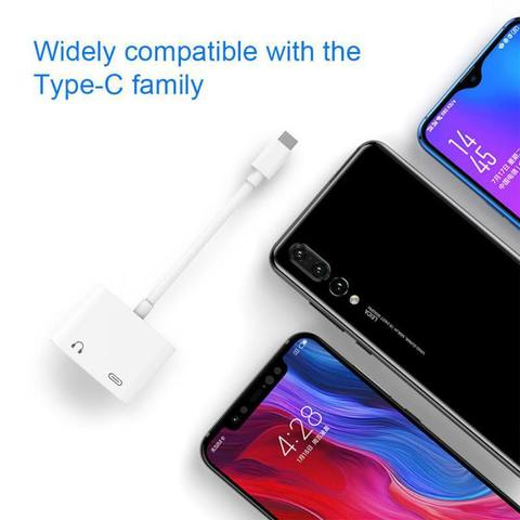 Type-C to 3.5mm Digital Fast Charger Audio Converter USB PD HIFI Sound Quality For iPad Pro Pixel SamSung HuaWei Xiaomi Lahore