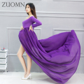 Royal Style Pregnant Photography Props Pregnancy Maternity Dress Maternity Photo Shoot Long Dress Fancy Dresses YL524