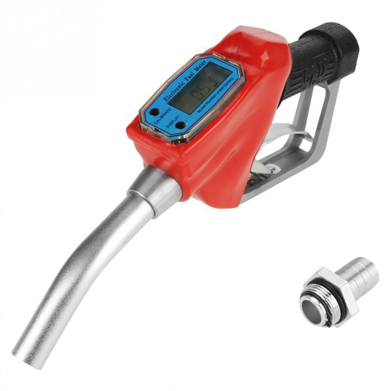 Pistolet /à carburant /électronique Pistolet /à gaz /électronique num/érique Pistolet /à essence diesel /à turbine de 1 pouce Pistolet /à essence