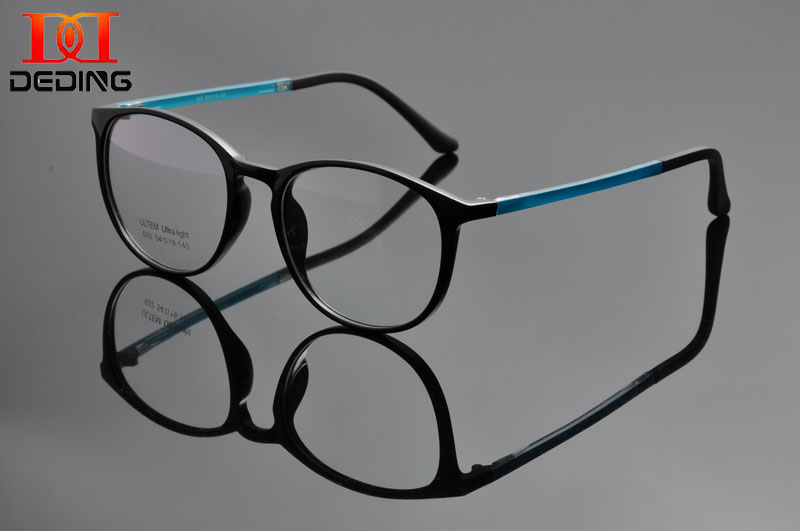 Oval Clear Lens Fashion Glasses Slim Temples  Womens Mens Accessory