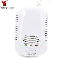 YobangSecurity HighSensitive Independent Plug In Combustible Natural Gas Leakage Alarm Detector Gas Leak Sensor For Home