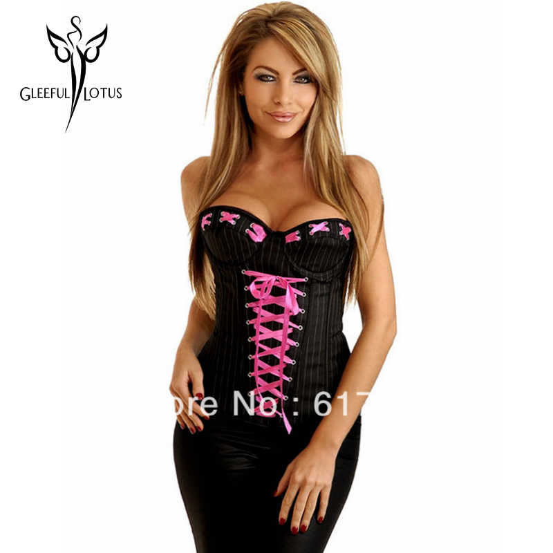 e21c83a66 Detail Feedback Questions about Black corset tight lacing waist ...