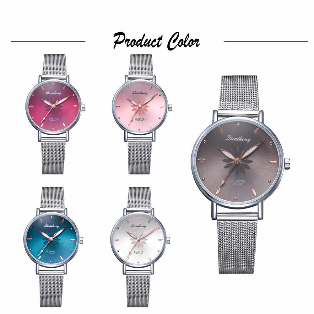 Reloj vansvar 2019 de lujo a la moda para mujer, reloj analógico de acero inoxidable, reloj de pulsera de cuarzo, envío directo # VB30