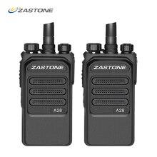 2 ชิ้น 10 กิโลเมตรวิทยุ Professional 10 วัตต์ UHF 400 480 เมกะเฮิร์ตซ์สองทางวิทยุ HF transceiver Comunicador telsiz Zastone A28