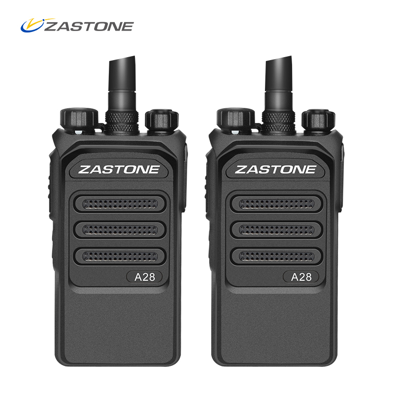 2PCS 10km Radio Professional 10W Walkie Talkie UHF 400-480MHz Two Way Radio Ham HF Transceiver Comunicador Telsiz Zastone A28