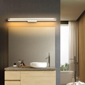 Image 3 - Современные светодиодсветодиодный настенные светильники, освещение для ванной комнаты, зеркальный водонепроницаемый акриловый настенный светильник яркостью 400 700, освещение для ванной комнаты