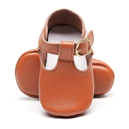Genuine leather T-bar Mary jane Baby Girls Shoes Infants Toddler baby Princess Ballet Shoes Newborn Crib shoes soft sole