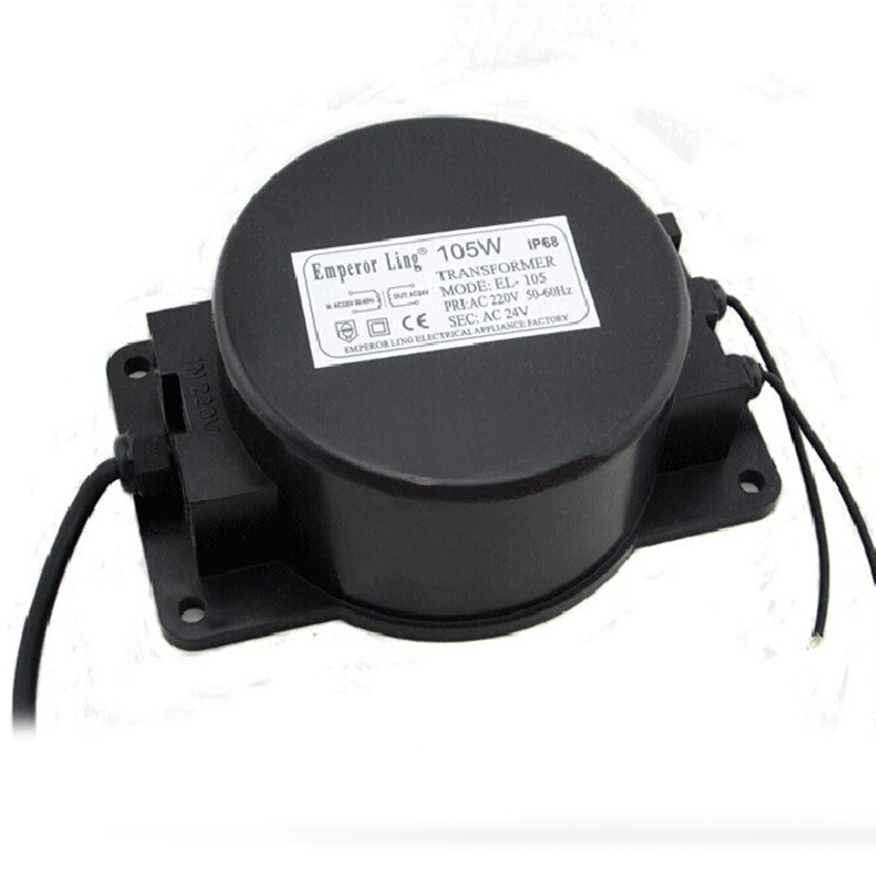 Transformadores de iluminación Ac12v 24 v 15/30/60/100/200/300/400 w transformador de luz Led resistente al agua de calidad de 220 a 12 v de potencia