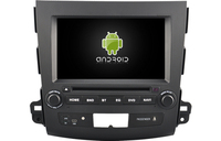 Navirider car dvd player multimedia autoradio android8.1 wifi gps navigation screen for Mitsubishi Outlander 2007 2012 headunit